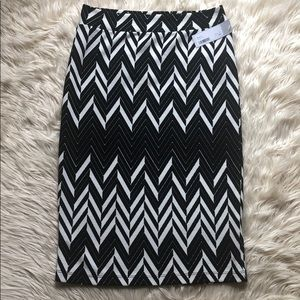 Stitch Fix Renee C NWT Marcy skirt black/white